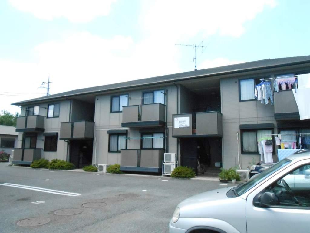 茨城県常総市、水海道駅徒歩7分の築13年 2階建の賃貸アパート