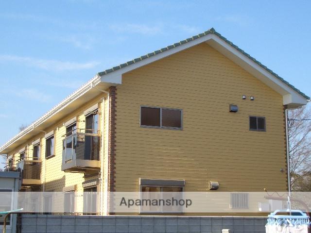 茨城県坂東市、愛宕駅茨城急行バス60分沓掛南下車後徒歩12分の築9年 2階建の賃貸アパート