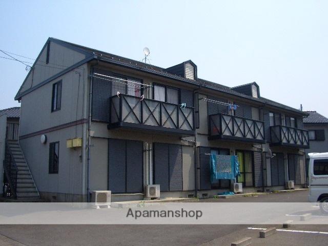 茨城県古河市、古河駅バス12分西女沼下車後徒歩2分の築17年 2階建の賃貸アパート