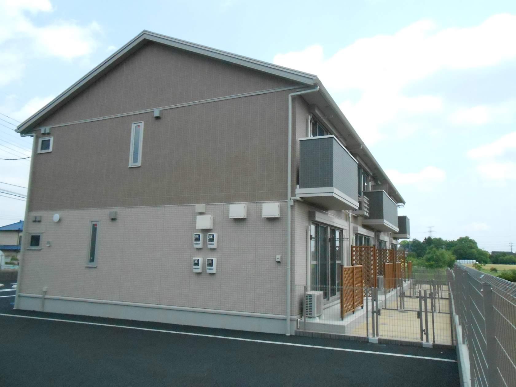 茨城県猿島郡境町、南栗橋駅徒歩132分の築3年 2階建の賃貸アパート