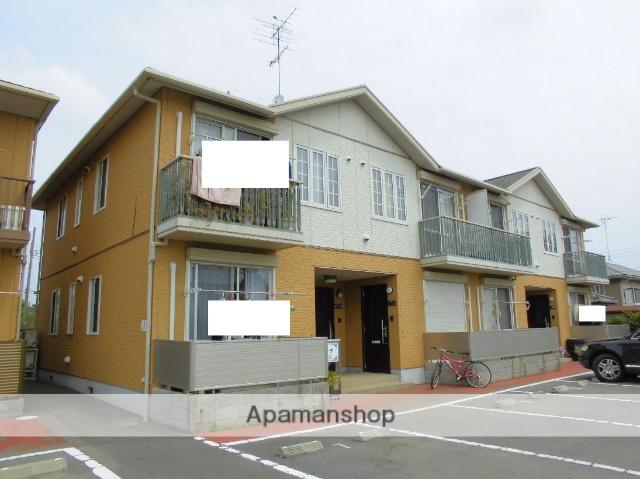 茨城県古河市、古河駅バス17分中田八幡下車後徒歩20分の築10年 2階建の賃貸アパート