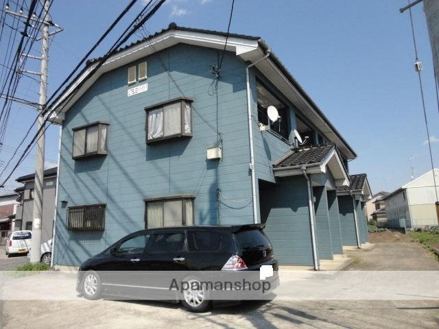 茨城県古河市、古河駅徒歩98分の築27年 2階建の賃貸アパート