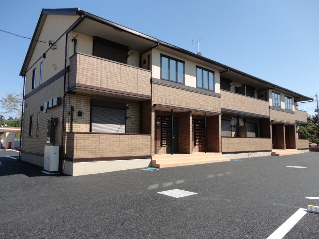 茨城県古河市、古河駅徒歩117分の築1年 2階建の賃貸アパート