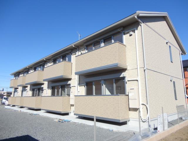 茨城県古河市、古河駅徒歩118分の新築 2階建の賃貸アパート