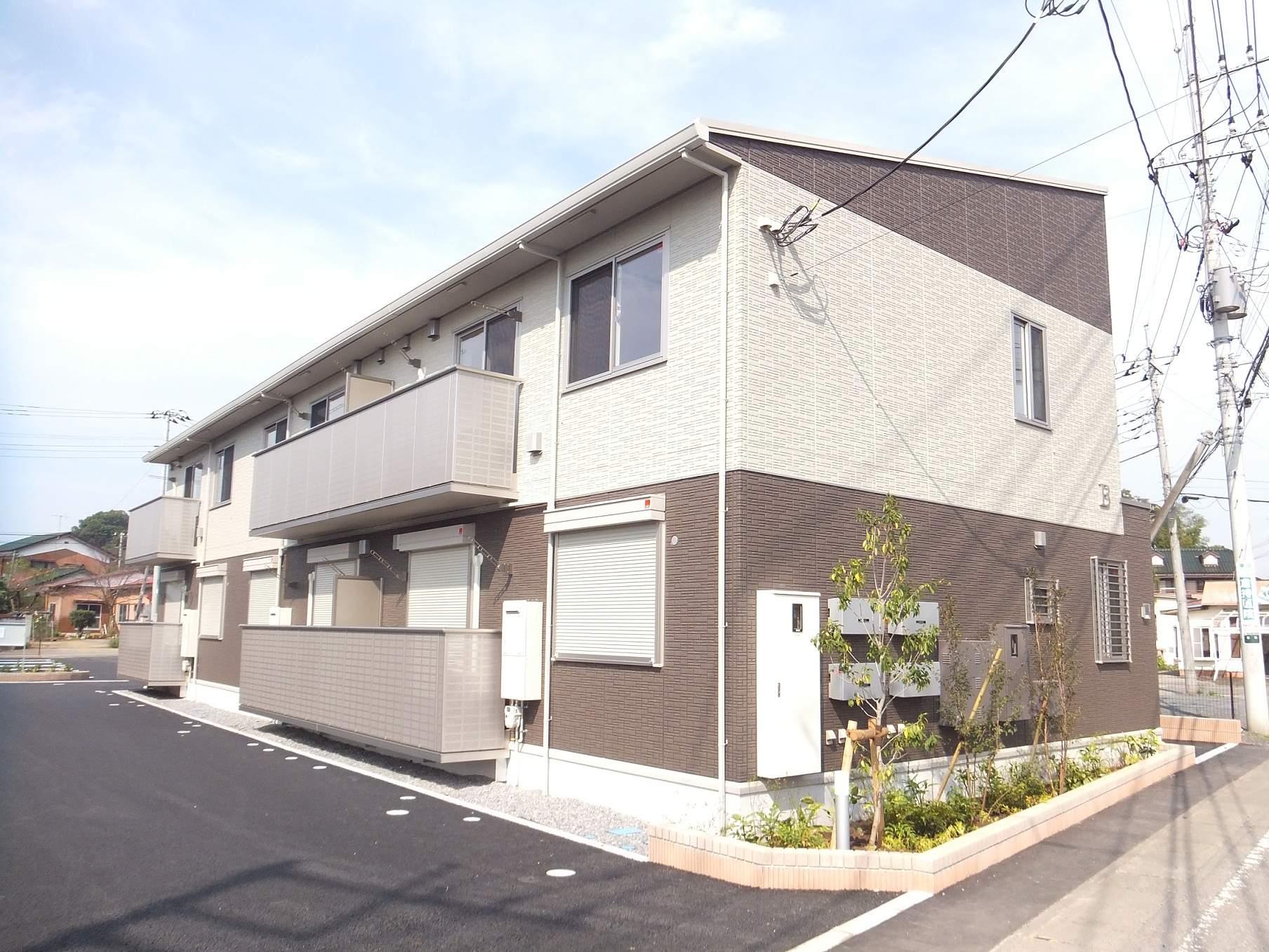 茨城県坂東市の築1年 2階建の賃貸アパート