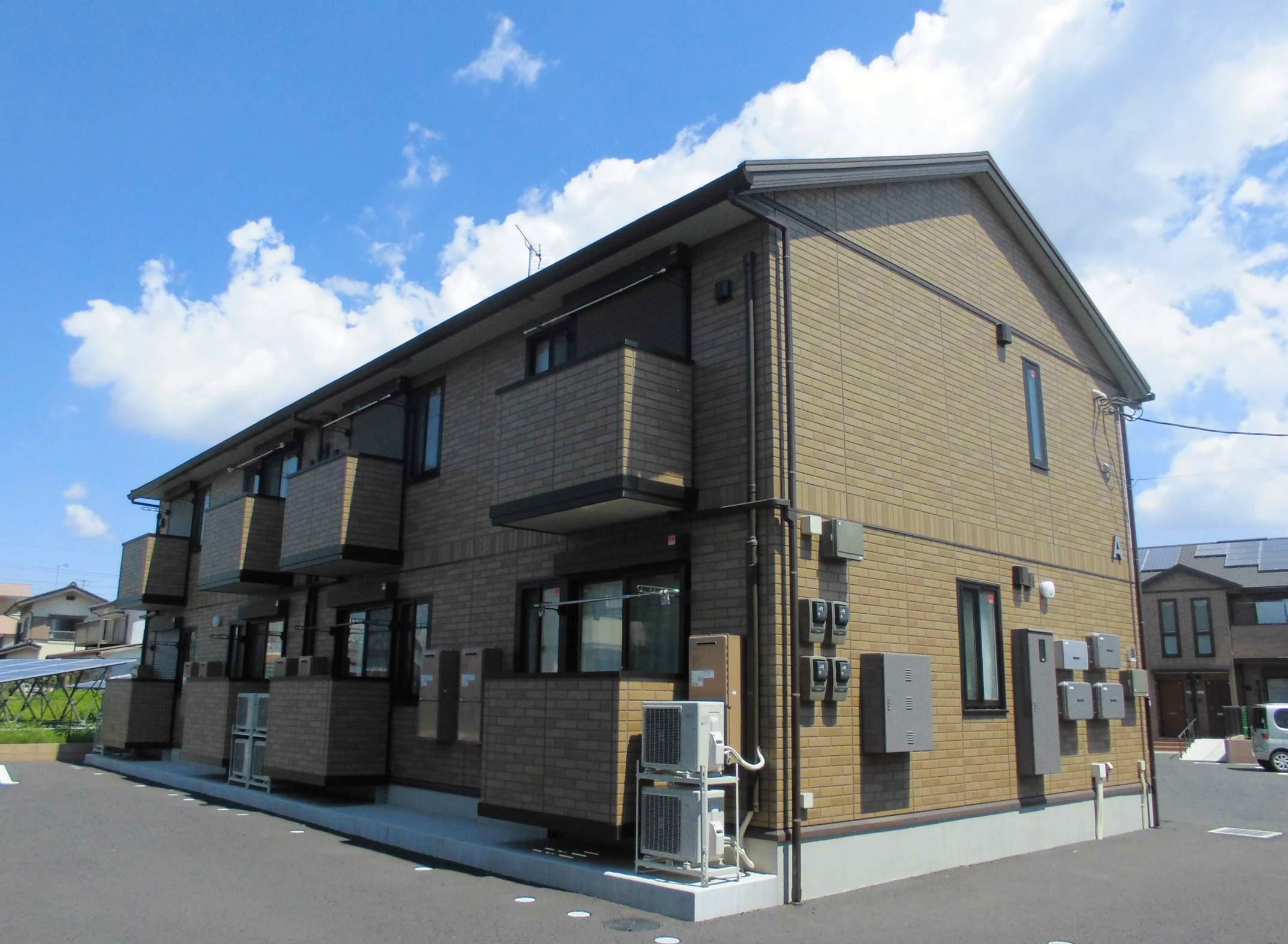 茨城県猿島郡境町の新築 2階建の賃貸アパート