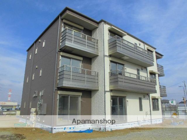 茨城県古河市、古河駅徒歩23分の新築 3階建の賃貸アパート