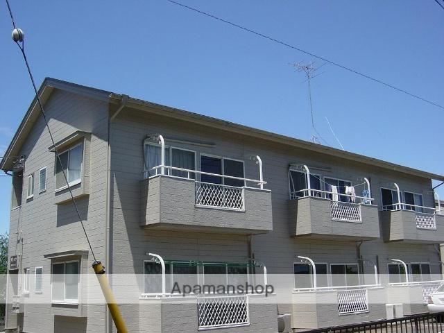 茨城県古河市、古河駅バス30分明神下下車後徒歩20分の築24年 2階建の賃貸アパート