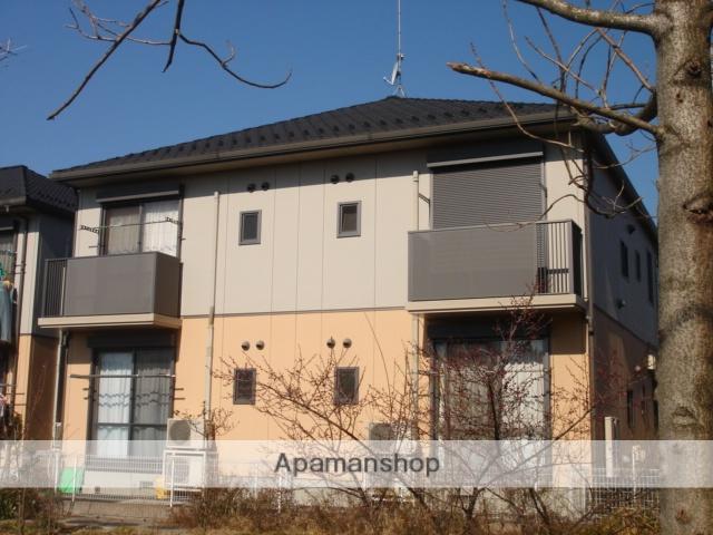 茨城県古河市の築14年 2階建の賃貸アパート