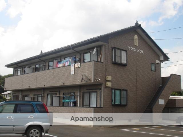 茨城県古河市、古河駅徒歩119分の築15年 2階建の賃貸アパート