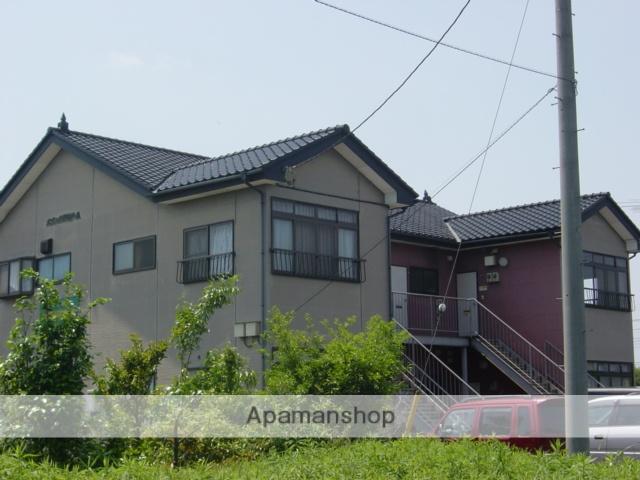茨城県坂東市、水海道駅バス25分岩井警察署前下車後徒歩5分の築23年 2階建の賃貸アパート