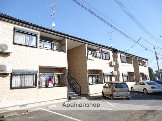茨城県古河市、古河駅徒歩150分の築13年 2階建の賃貸アパート
