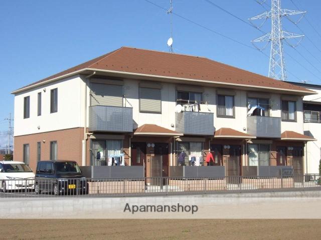 茨城県古河市、古河駅バス25分水海寺前下車後徒歩6分の築11年 2階建の賃貸アパート