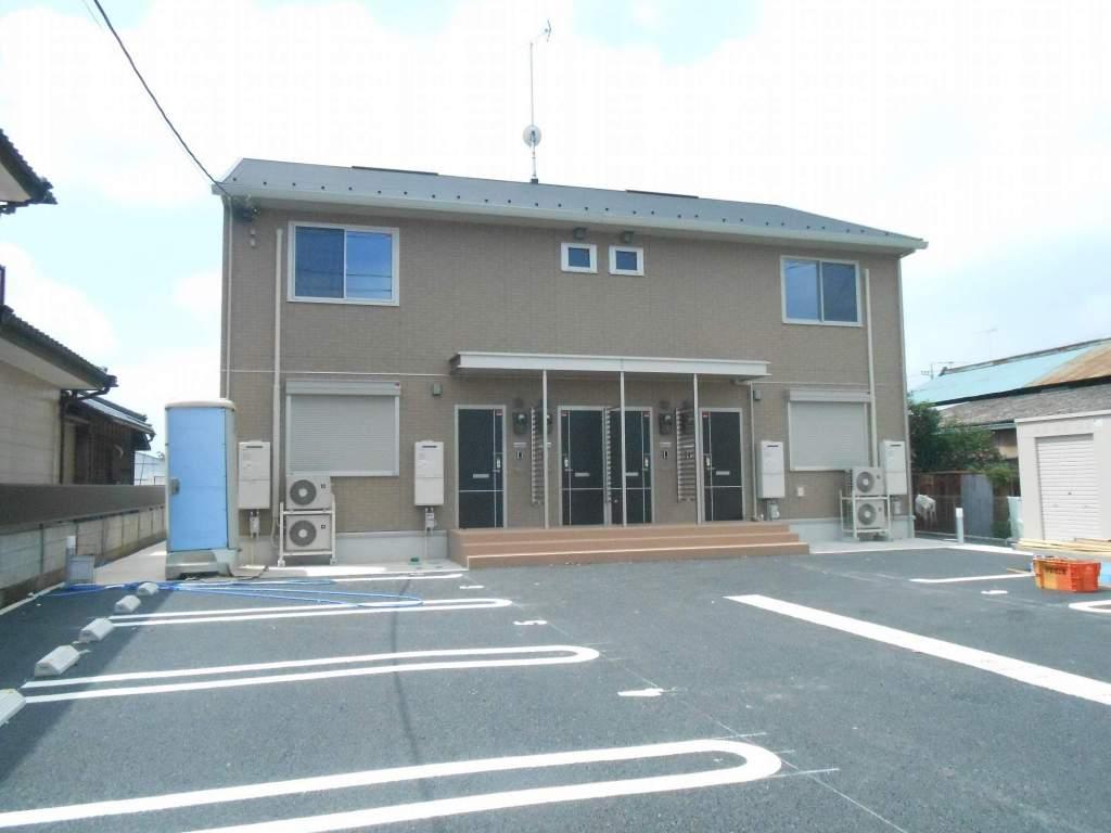 茨城県坂東市、南石下駅徒歩108分の築2年 2階建の賃貸アパート
