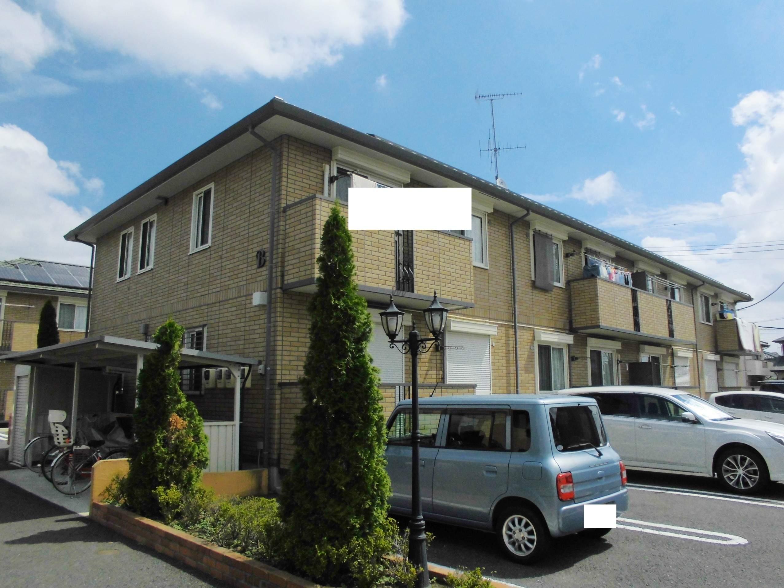 茨城県古河市、古河駅バス10分上辺見下車後徒歩8分の築8年 2階建の賃貸アパート