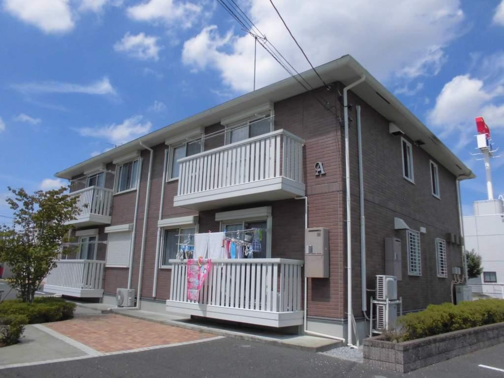茨城県古河市、古河駅徒歩23分の築10年 2階建の賃貸アパート