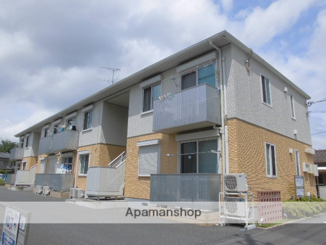 茨城県古河市、古河駅徒歩27分の築7年 2階建の賃貸アパート