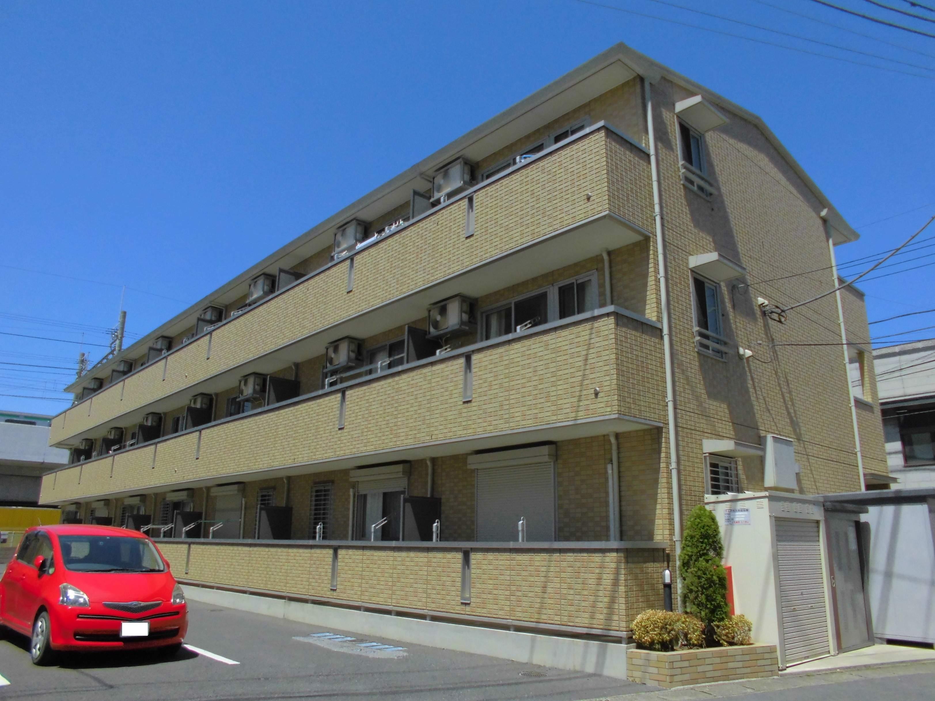 茨城県古河市、古河駅徒歩4分の築8年 3階建の賃貸マンション
