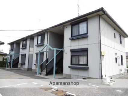 栃木県下都賀郡野木町、野木駅徒歩20分の築20年 2階建の賃貸アパート