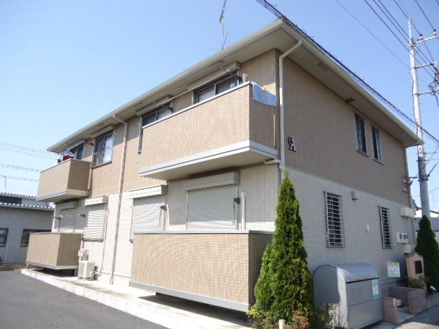栃木県下都賀郡野木町、野木駅徒歩17分の築7年 2階建の賃貸アパート
