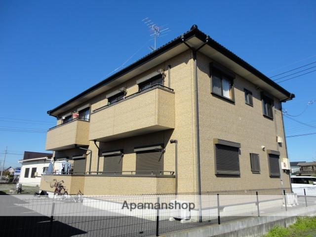 茨城県古河市、古河駅徒歩57分の築13年 2階建の賃貸アパート