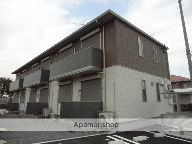 茨城県古河市、古河駅徒歩55分の築5年 2階建の賃貸アパート