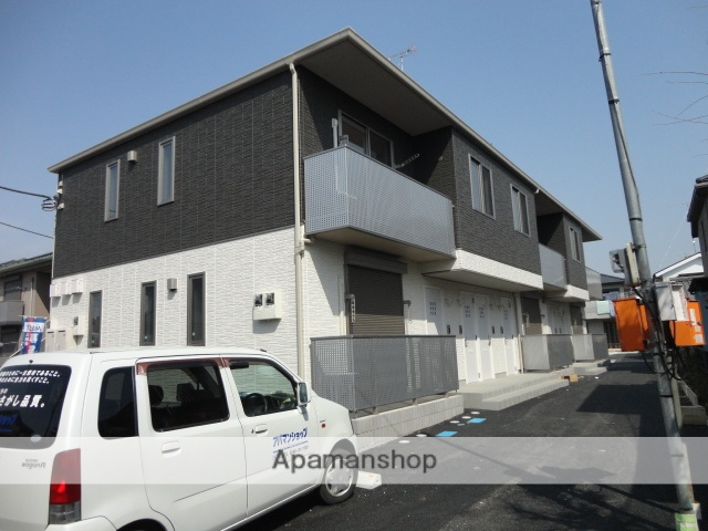 茨城県古河市、古河駅古河市営バスバス14分赤松町下車後徒歩6分の築5年 2階建の賃貸アパート