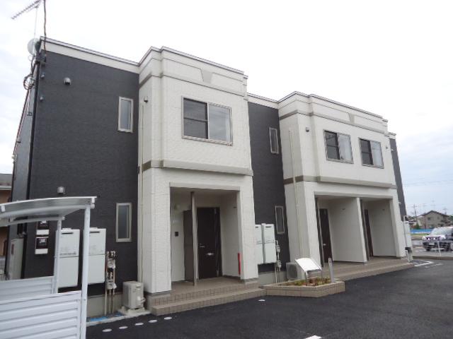 茨城県古河市、古河駅JR関東バス20分女沼仲町下車後徒歩4分の築3年 2階建の賃貸アパート