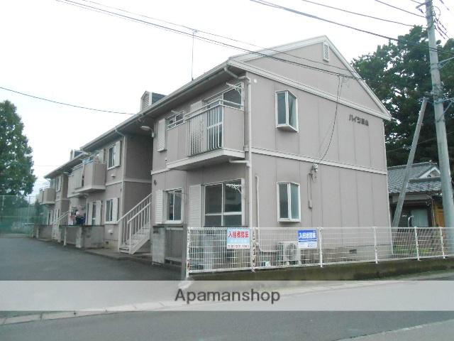 茨城県古河市、古河駅JRバス関東バス16分総和郵便局下車後徒歩3分の築27年 2階建の賃貸アパート