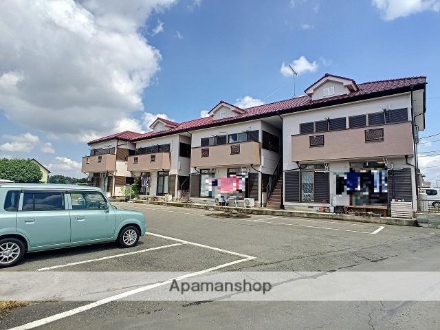 茨城県古河市、古河駅JRバスバス15分女沼南下車後徒歩1分の築21年 2階建の賃貸アパート