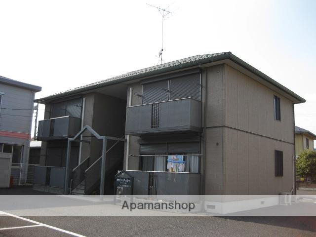 茨城県古河市、古河駅徒歩66分の築13年 2階建の賃貸アパート