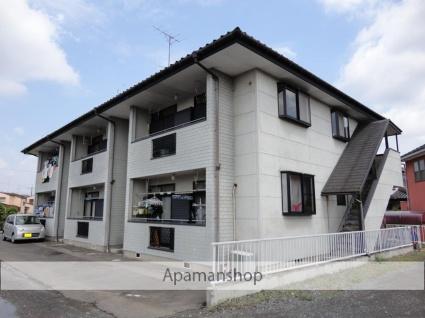 茨城県古河市の築25年 2階建の賃貸アパート