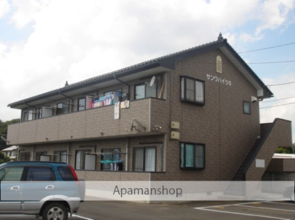 茨城県古河市、古河駅徒歩119分の築16年 2階建の賃貸アパート