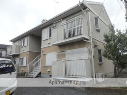 茨城県古河市、古河駅徒歩30分の築22年 2階建の賃貸アパート