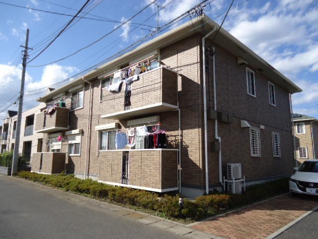 茨城県古河市、古河駅徒歩43分の築11年 2階建の賃貸アパート