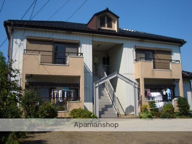 茨城県古河市、古河駅徒歩18分の築27年 2階建の賃貸アパート