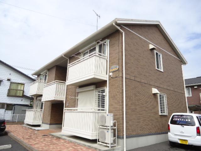 茨城県古河市、古河駅徒歩39分の築9年 2階建の賃貸アパート