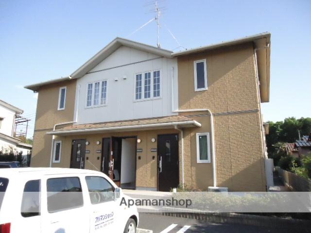 茨城県古河市、古河駅JRバスバス23分久能住宅地下車後徒歩10分の築10年 2階建の賃貸アパート