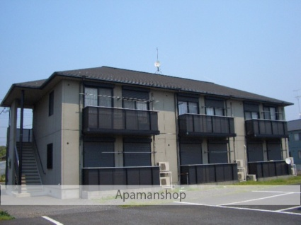 茨城県古河市、古河駅バス12分女沼下車後徒歩2分の築17年 2階建の賃貸アパート