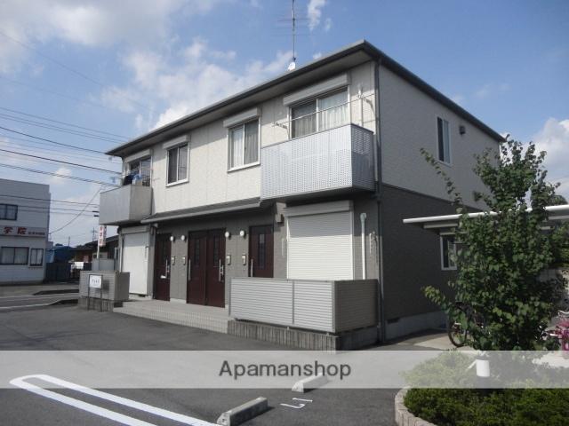 茨城県古河市、古河駅バス15分古河4少前下車後徒歩10分の築8年 2階建の賃貸アパート