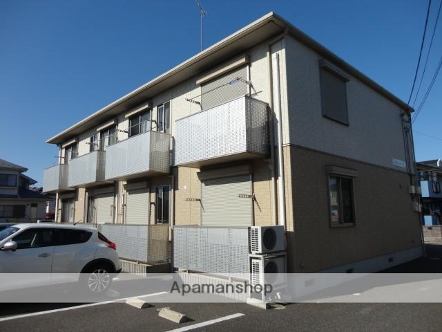 茨城県古河市、古河駅バス7分上辺見下車後徒歩15分の築8年 2階建の賃貸アパート