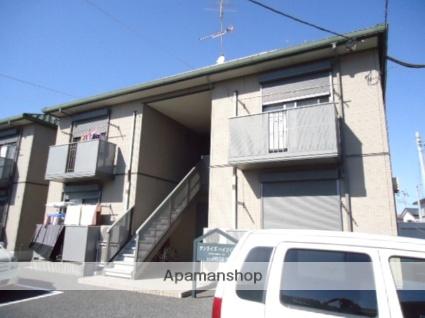 茨城県古河市、古河駅バス8分赤松町下車後徒歩4分の築14年 2階建の賃貸アパート