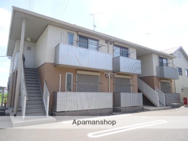 茨城県古河市、古河駅徒歩25分の築4年 2階建の賃貸アパート