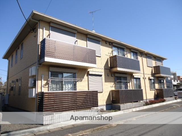 茨城県古河市、古河駅徒歩24分の築4年 2階建の賃貸アパート