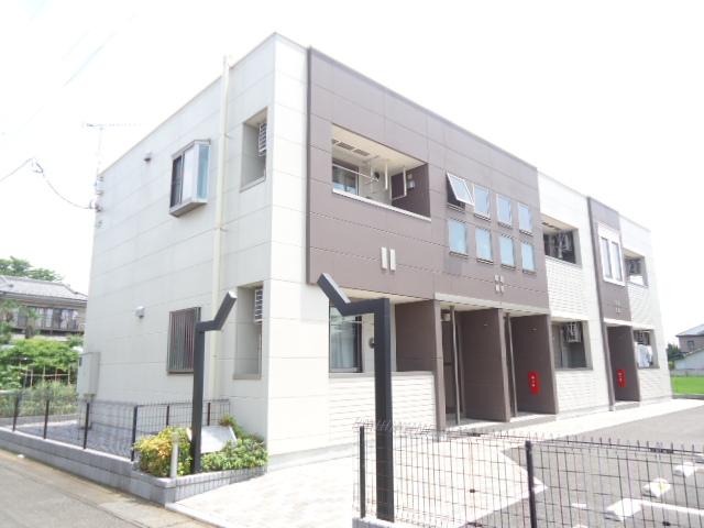 茨城県古河市、古河駅徒歩18分の築5年 2階建の賃貸アパート