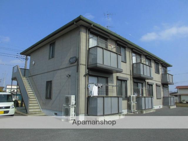 茨城県古河市、古河駅バス15分東女沼下車後徒歩4分の築14年 2階建の賃貸アパート