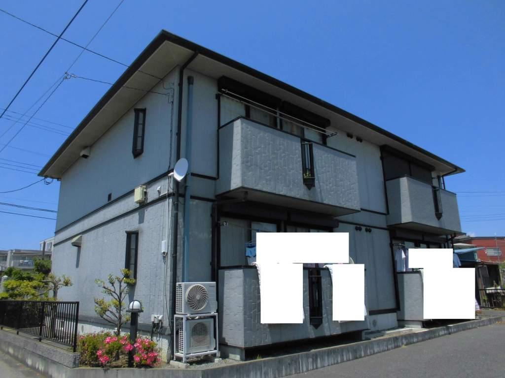 茨城県古河市、古河駅徒歩13分の築17年 2階建の賃貸アパート