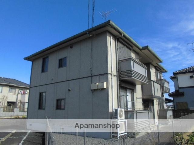 茨城県古河市、古河駅JRバス関東バス10分久能下車後徒歩10分の築12年 2階建の賃貸アパート