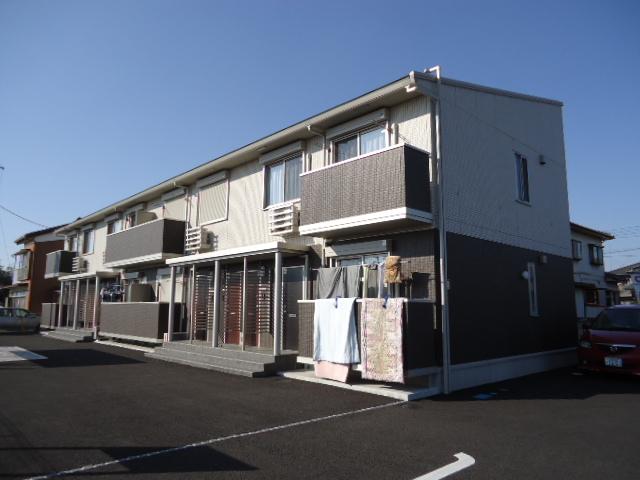 茨城県古河市、古河駅徒歩25分の築2年 2階建の賃貸アパート
