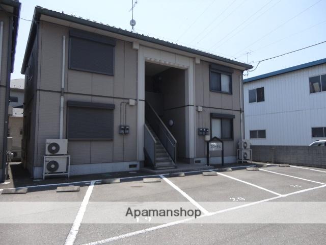 茨城県古河市、古河駅バス25分久能下車後徒歩10分の築12年 2階建の賃貸アパート
